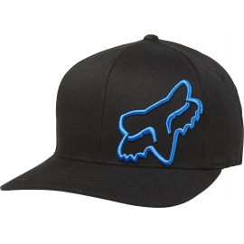 FLEX 45 FLEXFIT HAT [BLK/BLU]